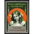 Reese & Wichmann Hamburg Cacao Chocolade (Mädchen grün)