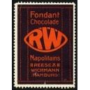 Reese & Wichmann Hamburg Fondant Chocolade RW Napolitains