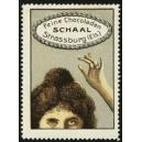 Schaal Feine Schokoladen Strassburg (halber Frauenkopf)