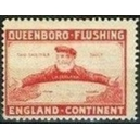Queenboro - Flushing England - Kontinent (rot)