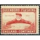 Queenboro - Flushing England - Kontinent (rot)