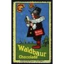Waldbaur Chocolade (Kind mit Lupe, Schmdetterlinge)