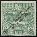 Wien 1922 I. Briefmarken-Händler-Tag 2 Kronen (grün)