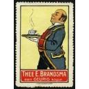 Brandsma Thee (Butler mit Tablett - rot)