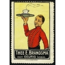 Brandsma Thee (Kellner mit Tablett - schwarz)