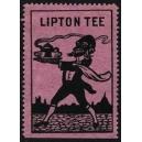 Lipton Tee (Kellner mit Spitzbart - violett)