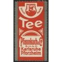 Pfannkuch & Co. Karlsruhe Pforzheim (rot - Schrift)