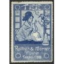Reither & Wörner München Tee (WK 01 - Japanerin, blau)