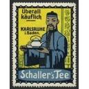 Schaller's Tee Karlsruhe (Chinese mit Kanne - gelb)