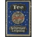 Schirmer Tee Leipzig (WK 01 - Weltkugel - blau)