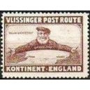 Vlissinger Post Route Kontinent - England (braun)