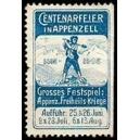 Appenzell 1905 Centenarfeier Grosses Festspiel ... (WK 01)