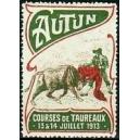 Autun 1913 Courses de Taureaux (WK 01)