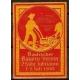 Badischer Bauern-Verein 25 jähr. Jubiläum 1910 (rot)