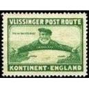 Vlissinger Post Route Kontinent - England (grün)