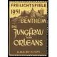 Bentheim 1951 Freilichtspiele Die Jungfrau von Orleans (WK 01)