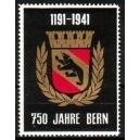 Bern 750 Jahre, 1191 - 1941 (WK 01)