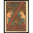 Budapest 1913 Kongress f. Kaufm. Bildungswesen (WK 01)