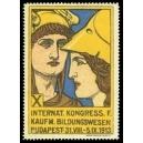 Budapest 1913 Kongress f. Kaufm. Bildungswesen (WK 02)