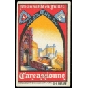 Carcassonne, fête annuelle en Juillet La Cité (WK 01)