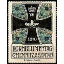 Chemnitz 1913 Kornblumentag (WK 01)