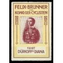Dürkopp Diana Felix Brunner König der Cyclisten (gelb/rot)