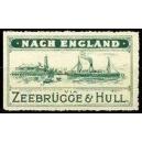 Zeebrügge & Hull Nach England via