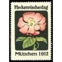 München 1912 Heckenröschentag (Blume)