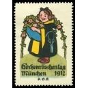 München 1912 Heckenröschentag (Mädchen)