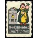 München 1912 Heckenröschentag (Spardose)
