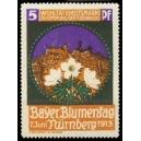 Nürnberg 1913 Bayr. Blumentag ... (Stadt)