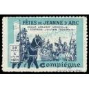 Compiègne 1911 Fêtes de Jeanne d'Arc ... (WK 01 - Schlacht)