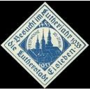 Eisleben, Besucht im Lutherjahr 1933 ... (WK 01 - blau)