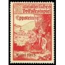 Eppstein 1913 Mittelalterliches Volksfestspiel (WK 01 - rot)