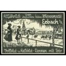 Erbach Wiesenmarkt ... (WK 01 - schwarz)
