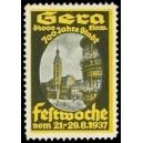 Gera 1937 700 Jahre Stadt Festwoche ...