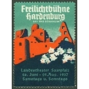 Hardenburg 1937 Freilichtbühne Landestheater ... (WK 01)