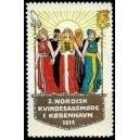 Kobenhavn 1914 2. Nordisk Kvindesagsmode (WK 01)