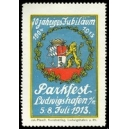 Ludwigshafen 1913 Parkfest ... (WK 04)