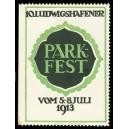 Ludwigshafen Parkfest 1913 ... (WK 12 - Emblem)