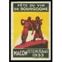 Macon 1933 Fête du Vin de Bourgogne (WK 01)