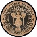 Meissen 1000 Jahre Stadtsiegel um 1220