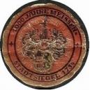 Meissen 1000 Jahre Stadtsiegel 1734