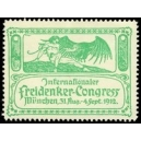 München 1912 Internationaler Freidenker-Congress (grün)