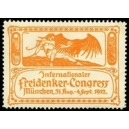 München 1912 Internationaler Freidenker-Congress (orange)