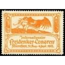 München 1912 Internationaler Freidenker-Congress (orange)