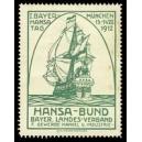 München 1912 I. Bayer. Hansa Tag ... (grün)