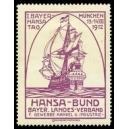 München 1912 I. Bayer. Hansa Tag ... (violett)