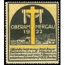Oberammergau 1922 Passionsspiele ... (WK 01)