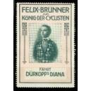 Dürkopp Diana Felix Brunner König der Cyclisten (rosa/grün)